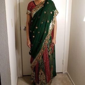 Saree/sari/indian dress/Bollywood dress